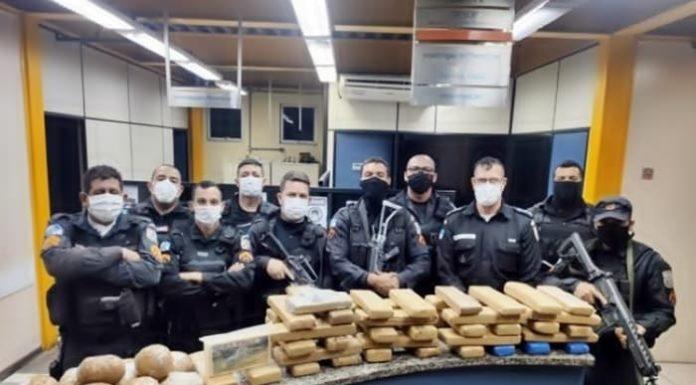 Cemitério: Polícia apreende 55 quilos de droga enterrada em Barra Mansa