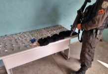 Suspeito é preso com cocaína, maconha e crack no Morro da Conquista, em VR