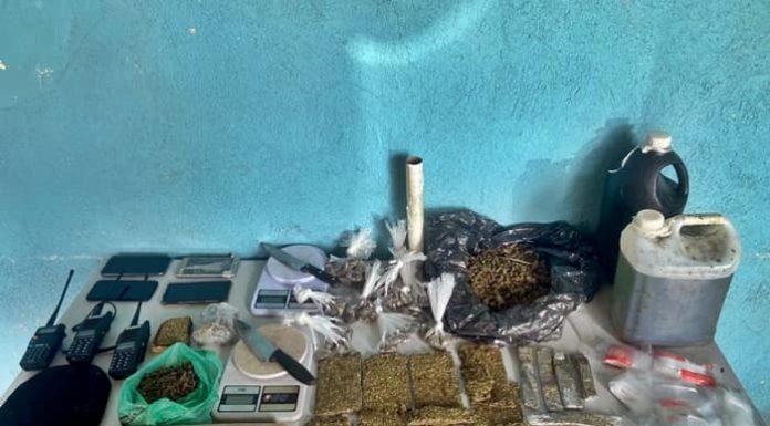 Sete suspeitos são flagrados com droga em Volta Redonda