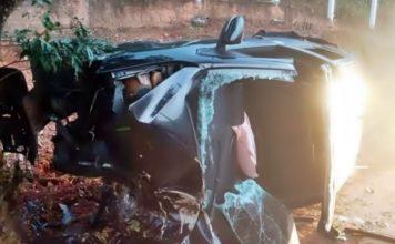 Homem morre em acidente de carro em Paraíba do Sul