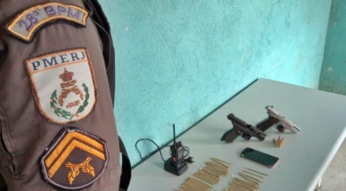 Polícia prende dois suspeitos de gerenciar tráfico em Volta Redonda