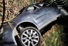Vereador de Barra Mansa escapa ileso de acidente de carro