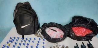 Três mulheres foram presas por tráfico no Açude II, em Volta Redonda