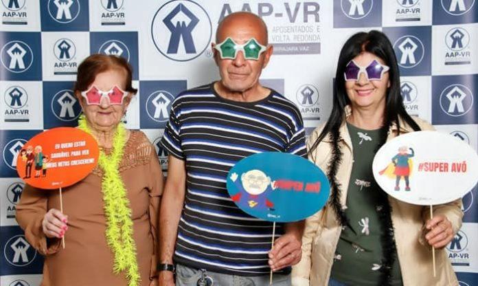 Dia dos Avós comemorado em grande estilo na AAP-VR