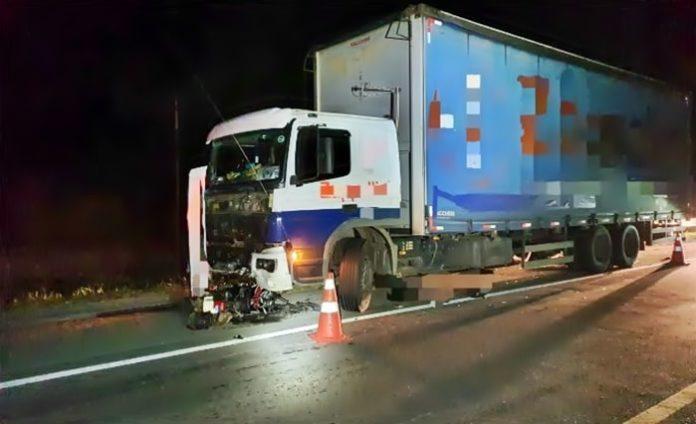 Motociclista morre num acidente na BR-393, em Paraíba do Sul