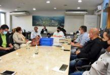 Neto recebe Romário e discute projetos no esporte e social para Volta Redonda