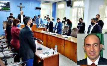 Thiago Soares é eleito presidente da Câmara de Barra do Piraí