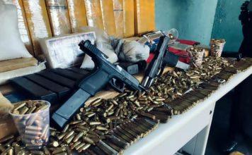 Casal tinha munição para enfrentar exército e três tipos de droga