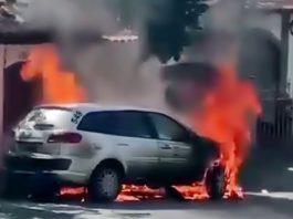 Polícia investiga incêndio ao carro do Conselho Tutelar de Volta Redonda
