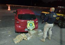 Polícia Rodoviária apreende 110kg de maconha em Seropédica