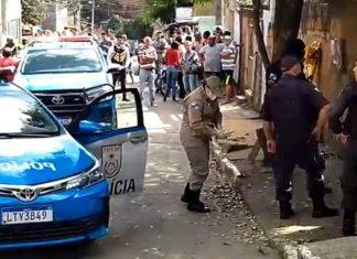 Filho mata pai a facadas e é baleado na perna pela polícia em Três Rios