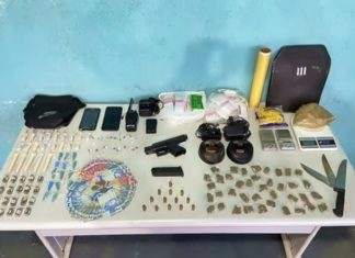Drogas e munições são apreendidas em condomínio de VR