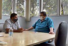 Edson Quinto se reúne com secretário da SMAC por melhorias no Sta. Rita do Zarur.