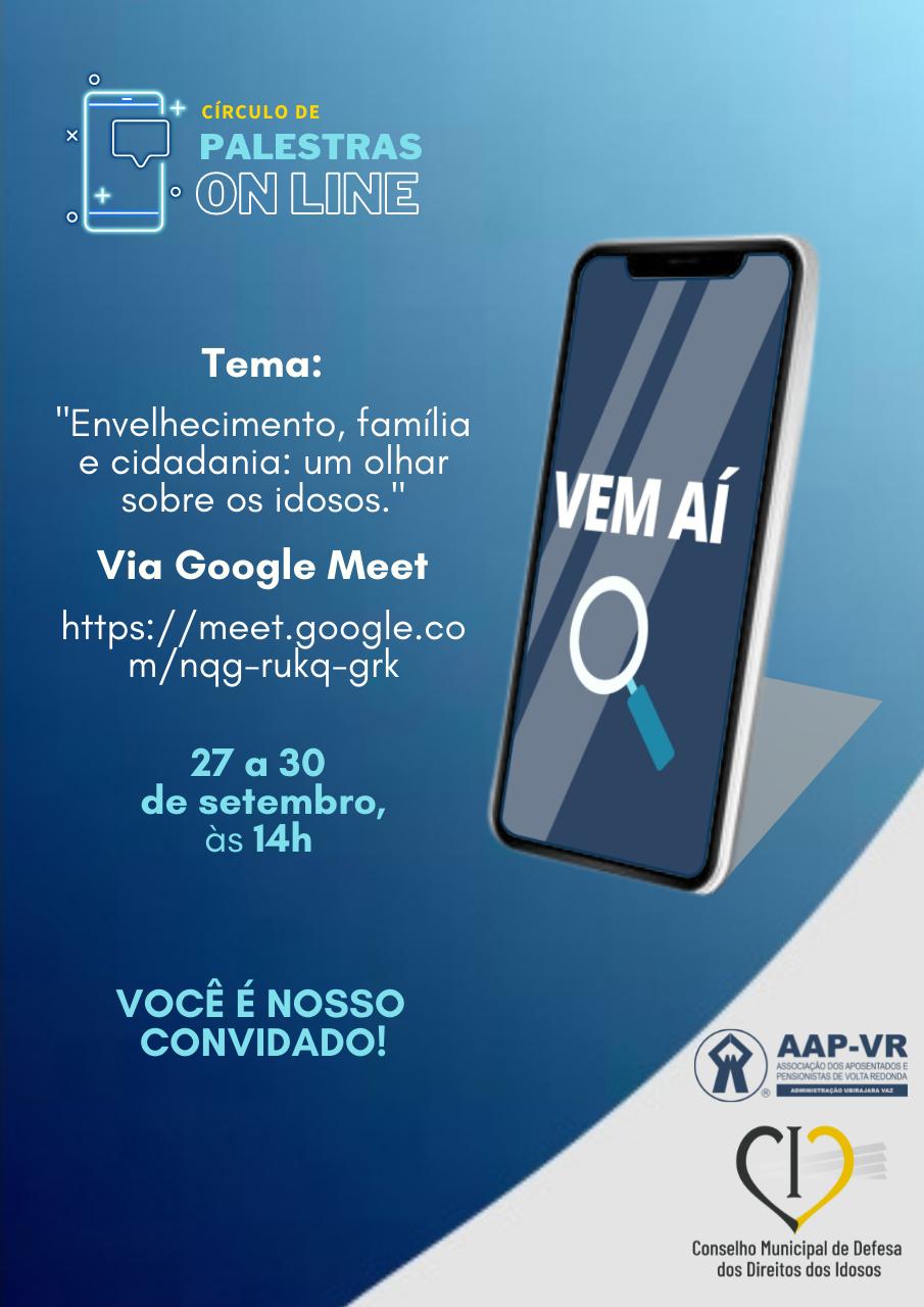 Palestras AAP-VR