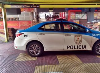 PM prende suspeito de furto a loja em Volta Redonda
